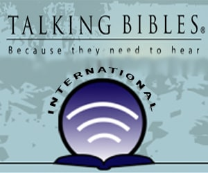 Talking Bibles Sidebar Ad