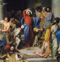 Christ-Cleansing-the-Temple-Carl-Heinrich-Bloch-1875