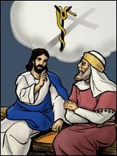 Jesus Nicodemus Snake Cross