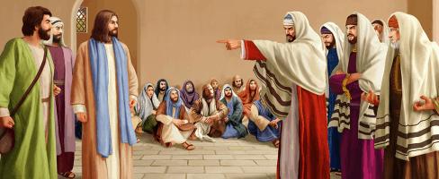 Condemning Pharisees