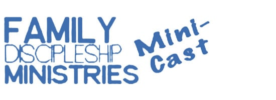 Family Discipleship Mini Cast Slider