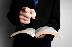 condemning preacher