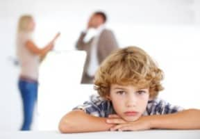 divorce affects children