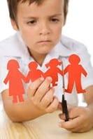 Child Divorce Paper Dolls