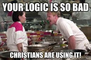 Christian Logic Is So Bad