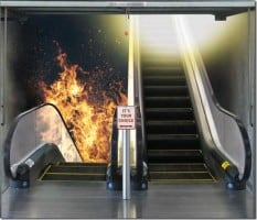 Heaven Hell Escalator