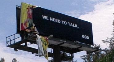God Billboard