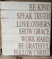 speak truth follow christ