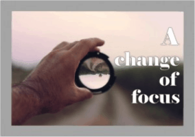 change of focues