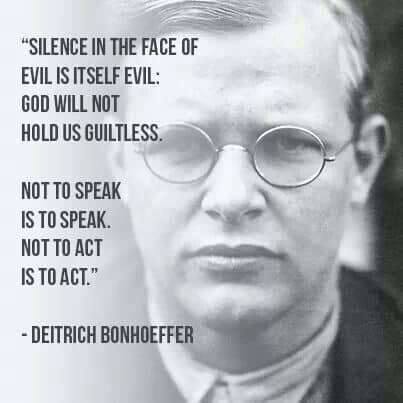 Dietrich Bonhoeffer William Wilberforce