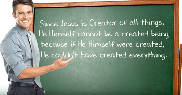 "what does ""Jesus is the firstborn of all creation"" mean?"