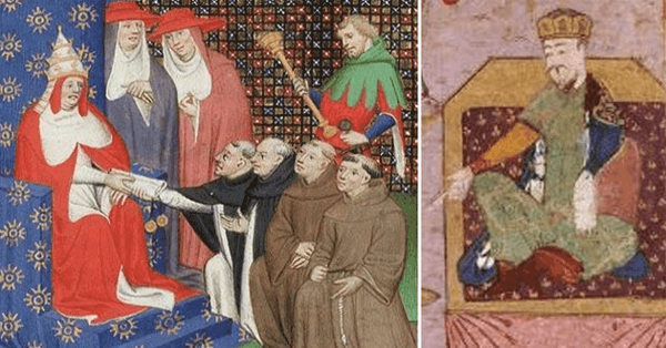 the Pope and the Great Khan were unsuccessful pen pals