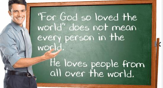 For God so Loved the World?