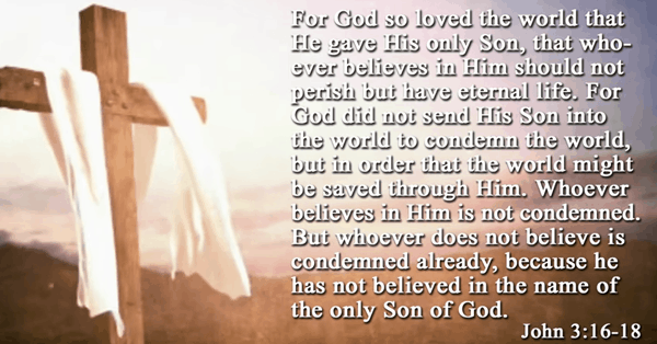 Whoever Does Not Believe is Condemned