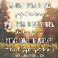 Raising Kids with No Regrets with Rhonda Stoppe