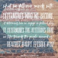 A Return to Chivalry: Making Character Training Fun with Heather Haupt