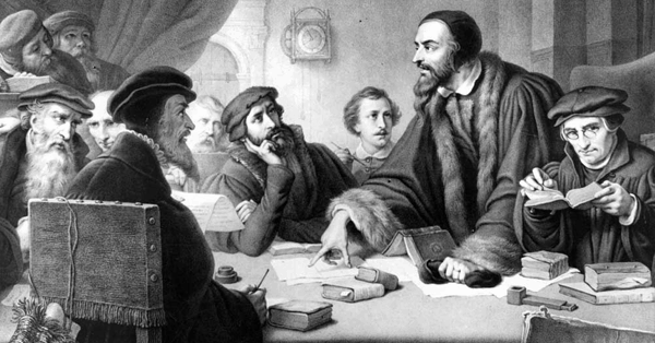 John Calvin's view of missions