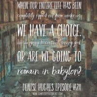 Dive into God's Life Giving Word with Denise Hughes