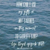 Being Faithful with the Gifts and Talents God's Given YOU