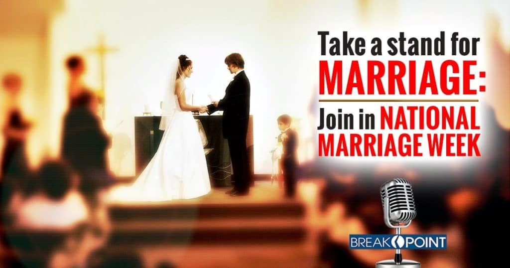 Take a Stand for Marriage - Join in National Marriage Week!